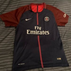 PSG JERSEY WITH EMBROIDERED LOGO